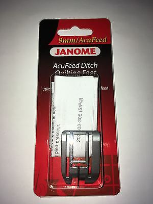 Janome 9mm/AcuFeed Ditch Quilting Foot