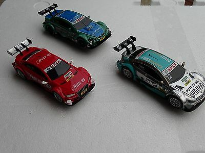 Carrera Digital 143 DTM Trio: MERCEDES, AUDI A5, BMW M3 41385 41386 41390