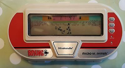Vintage, Retro, Collectible Nintendo GAME & WATCH BOXING BX-301 1983