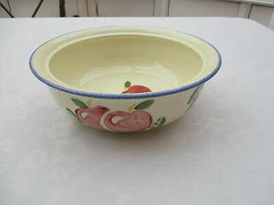 poole pottery dorset fruits tureen base very  good used condition