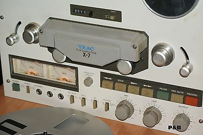 TEAC X 7 - Tape Recorder - Registratore a Bobine REEL to REEL