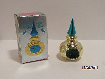 Vintage Estate Avon OCCUR Cologne Christmas Ornament Beautiful Full Bottle