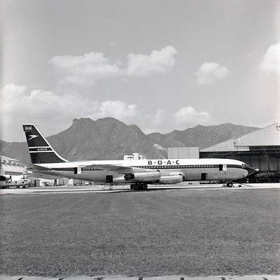 "Boeing 707 BOAC Kai Tak Airliner Limited Edition Photograph 13"" or 20"""
