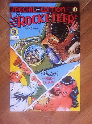 Rocketeer #1 Special Edition Eclipse Comics Very Fine/near Mint (W5)