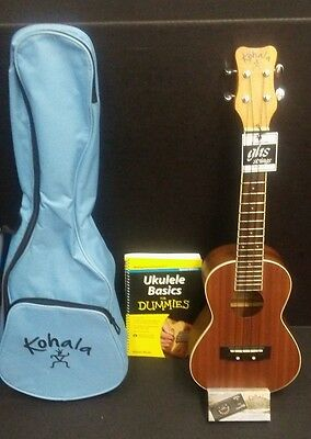 NEW Kohala Ukulele Learn How to Play case tuner and instruction book included