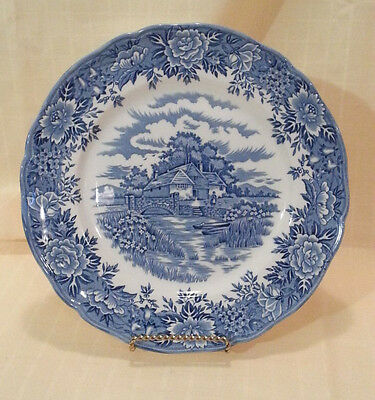 "Salem China Co. Staffordshire ""ENGLISH VILLAGE"" 10""  DINNER PLATE - EXCELLENT"