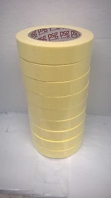 """Sleeve of 9 x 1"""" or 24 mm Professional Car Body Spray Masking Tape PSG"""
