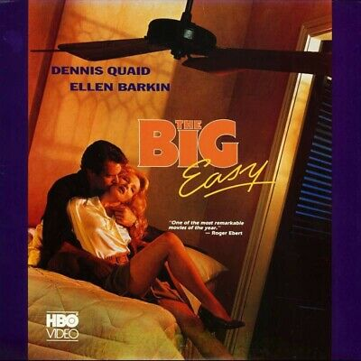 BIG EASY (THE) NTSC LASERDISC Jim McBride /Dennis Quaid, Ellen Barkin,Ned Beatty