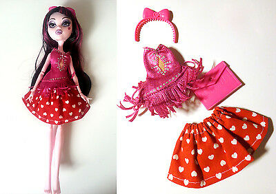 Ropa y accesorios para monster high MH draculaura cleo cupid catrine outfit