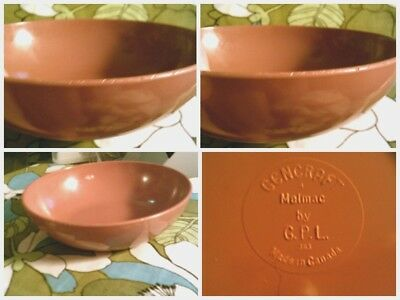 CLEARANCE-Melmac rust/dark orange bowl