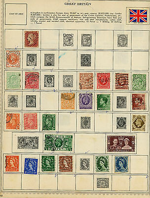 330 stamps from the British Commonwealth Of Nations all before 1960