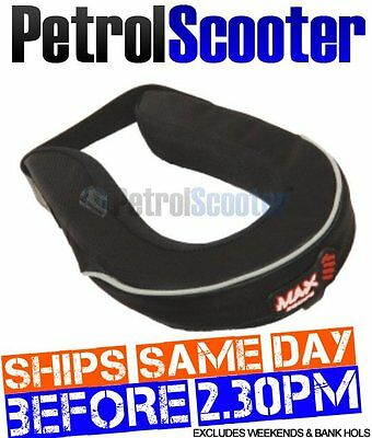 Junior Wulfsport Neck Brace Support Pad Branded Max Equipe Anti Roll Protection