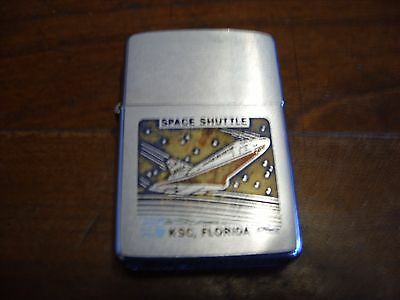 Zippo Lighter with shuttle on it with packaging