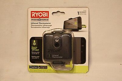 NEW Ryobi Phone Works Infrared Thermometer - ES2000 - SmartPhone Apple Android
