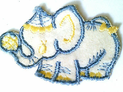 Sewn on patch-Vintage CIRCUS elephant