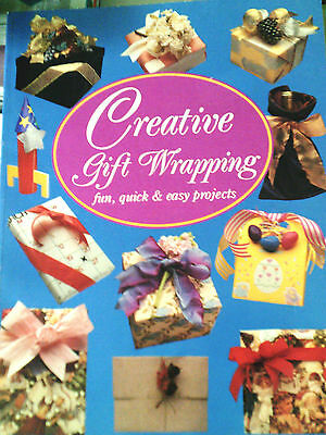 Creative gift wrapping booklet Vintage1991