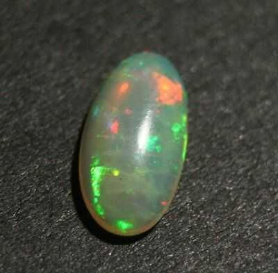 1.46ct Welo Crystal Opal Cabochon - Neon Flash AAA Jelly Opal - See Video