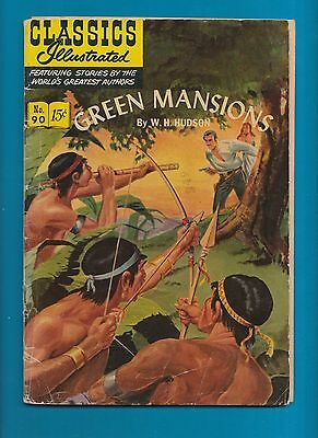 Classics Illustrated Comic 1951 Green Mansions # 90   #789