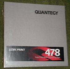 2 NAB 1/4 inch spools of Quantegy 478 tape