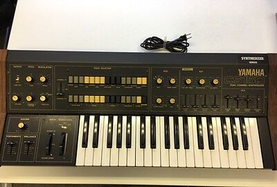 Yamaha CS-15D (vintage analogue monophonic synthesiser)