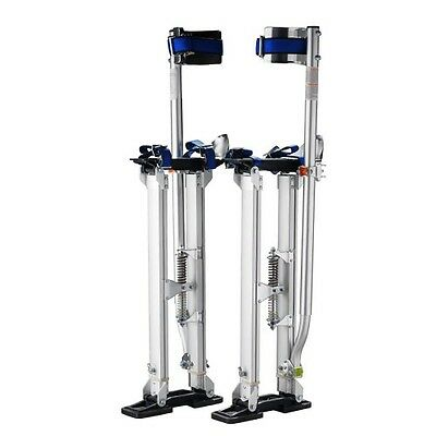 "Pentagon Tools 24"" - 40"" Drywall Stilts Silver"