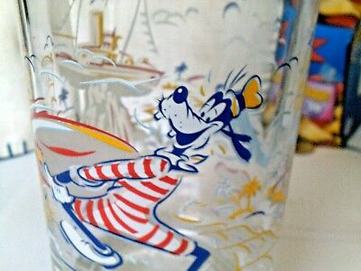 Disney vintage 25th anniversary Goofy and water