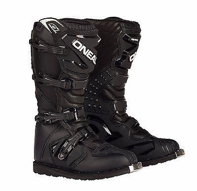 2017 Oneal Motocross/Offroad Rider Adult Boots BLACK SIZE 13
