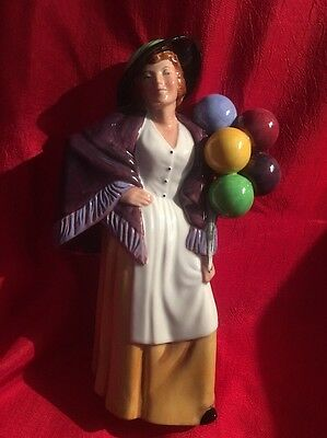 Royal Doulton Figurines Balloon Lady Hn2935 Excellent