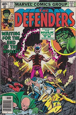 The Defenders #77 Marvel 1979