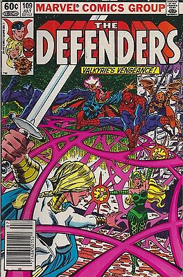 The Defenders #109  Marvel 1982