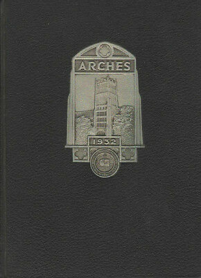 Arches 1932 Mount Mary College Milwaukee WI Yearbook