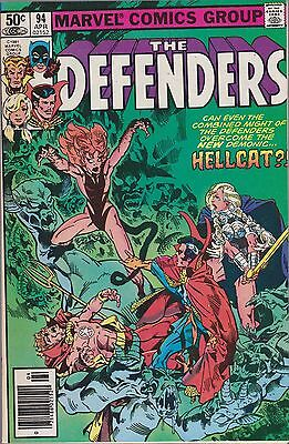 Defenders #94 Marvel 1981 Combined Shipping  Avail.
