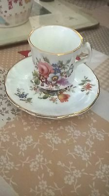 Hammersley miniature cup and saucer/plate