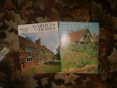 2 Garden booklets from mid 1960s