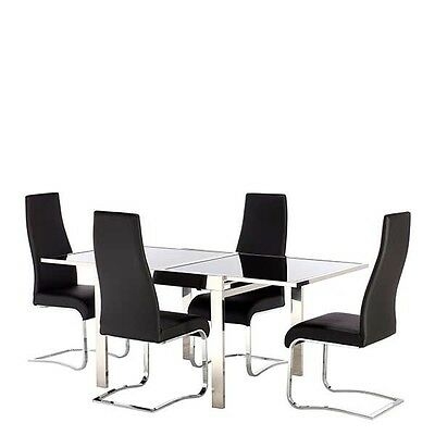 barker and stonehouse extending table with 4 chairs