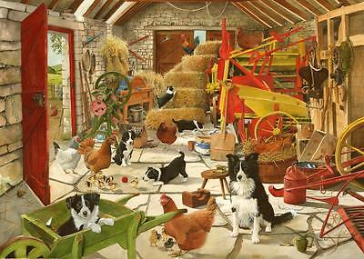 The House Of Puzzles - 1000 PIECE JIGSAW PUZZLE - Workers Playtime