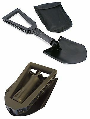 Emergency Snow Shovel Car Winter Travel Light and Compact Solid Steel Easy Grip