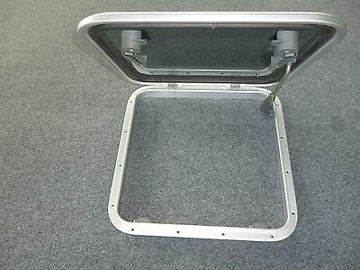 Aluminium Framed Marine Deck Hatch
