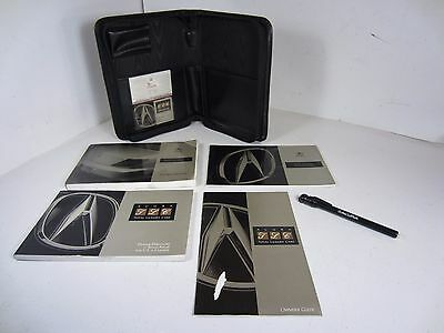 1997 Acura CL Owners Manual Case Tire Pressure Gauge