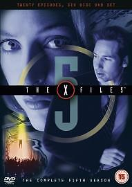 The X-Files - Series 5 - Complete (DVD, 2004, M-Lock Packaging)