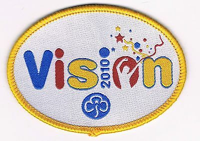 Girl Guides -  'Vision' 2010 Centenary Badge