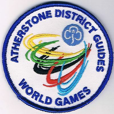 Girl Guides - Atherstone District Guides 'World Games' Badge
