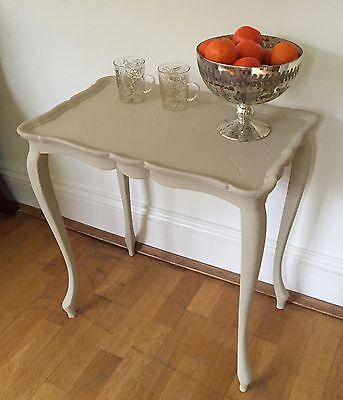 Pretty Vintage Coffee Table - Side Lamp Table