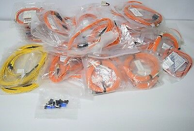 Large Box of Fiber Optic Patch Cable LC-LC Duplex Multimode N86