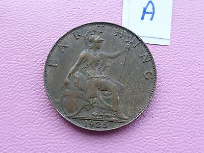 George v Farthing coin 1925  A