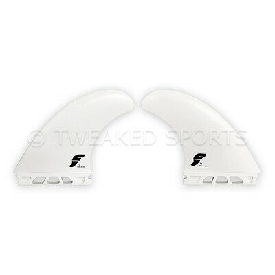 NEW Futures Fins T1 FT1 Thermotech Surfboard Surf Twin Fin Set - White