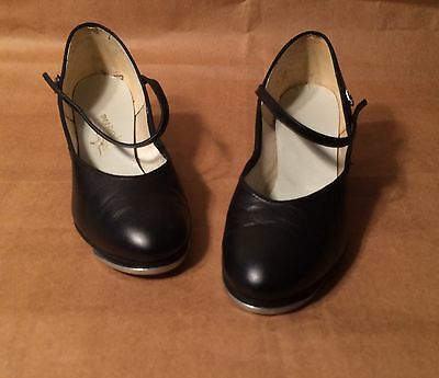Vintage Selva Mary Jane Style Tap Shoes Women's Size 8-1/2 M