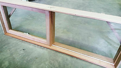 Timber Awning Window 600H x 1800W Brand New