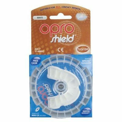 Opro Shield - Ultimate Fit And Protection (Age 7 To Adult) Free Case