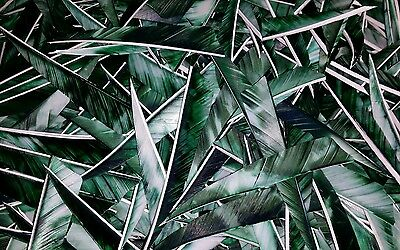 "36 x 4"" Shield Camo GREEN Feathers for traditional / longbow / archery"